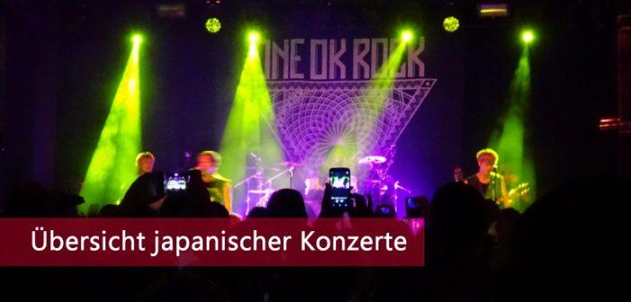 japanische Konzerte