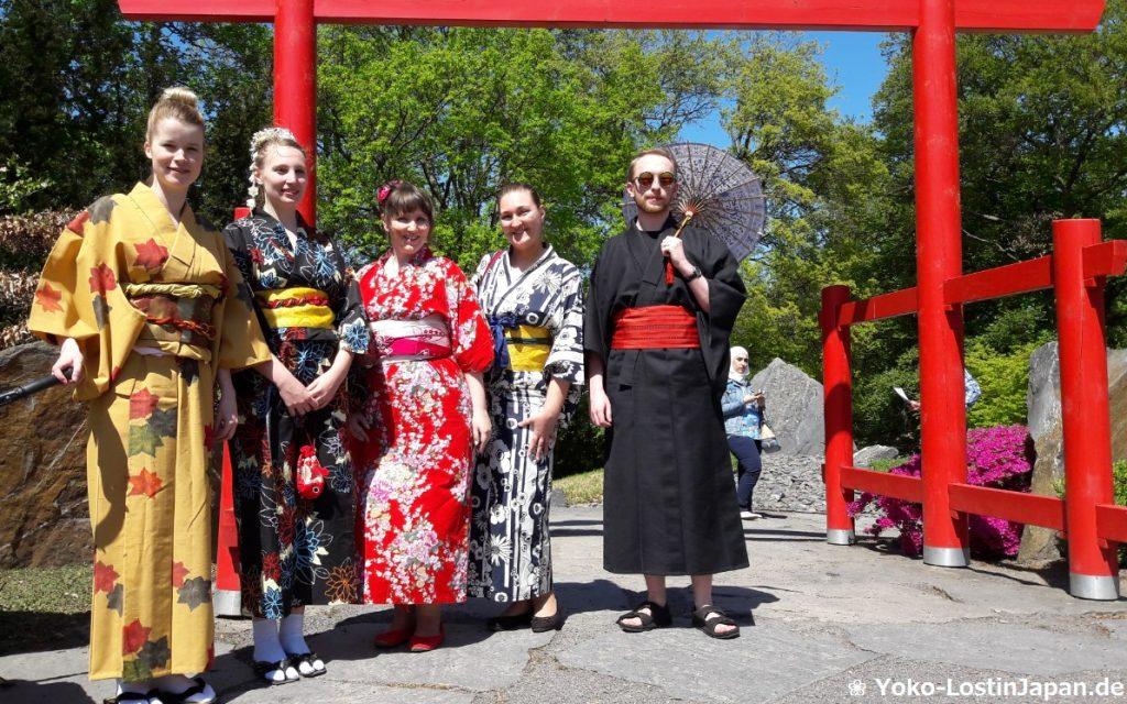 Japanisches Gartenfest im Egapark Erfurt