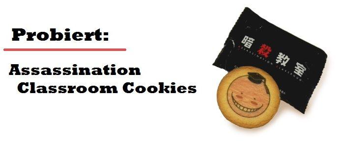 Probiert: Assassination Classroom Cookies