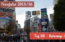 Japan-Reise Neujahr 2015-16