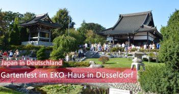 Gartenfest im EKO-Haus in Düsseldorf