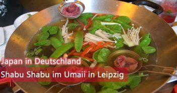 Shabu Shabu im Umaii in Leipzig