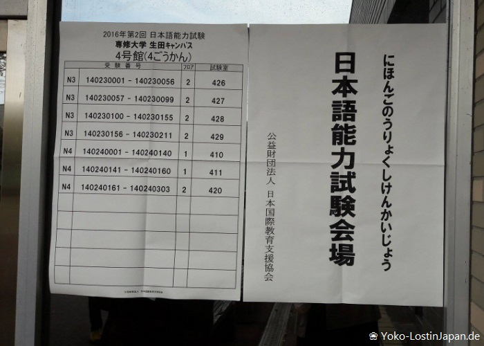 JLPT - Japanese-Language Proficiency Test