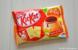 Easter KitKat Custard Pudding