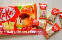 Easter KitKat Custard Pudding