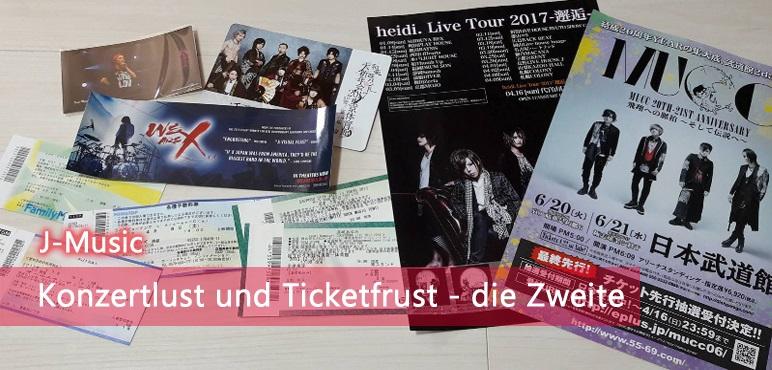 [Musik] Konzertlust und Ticketfrust – die Zweite