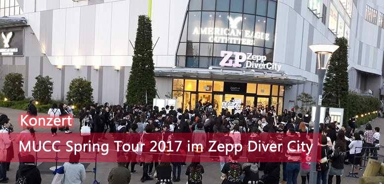 [Konzert] MUCC – Spring Tour 2017- im Zepp Diver City