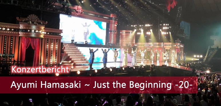 [Konzert] Ayumi Hamasaki ~ Just the Beginning -20- Tour-Start in Yokohama