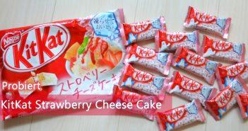 KitKat Strawberry Cheese Cake