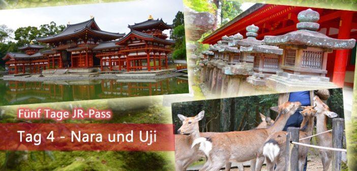 [Fünf Tage JR-Pass] Tag 4 – Nara und Uji