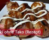 [Yoko kocht] Takoyaki ohne Tako (Rezept)