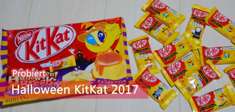 Halloween KitKat 2017