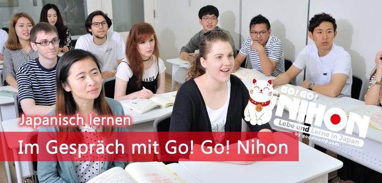 [Japanisch lernen] Im Gespräch mit Go! Go! Nihon