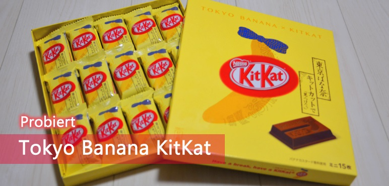 Probiert: Tokyo Banana KitKat