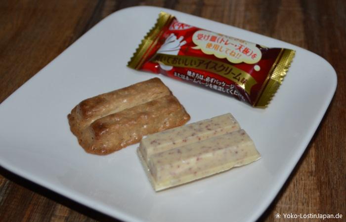 Kitkat Baked Ice Cream