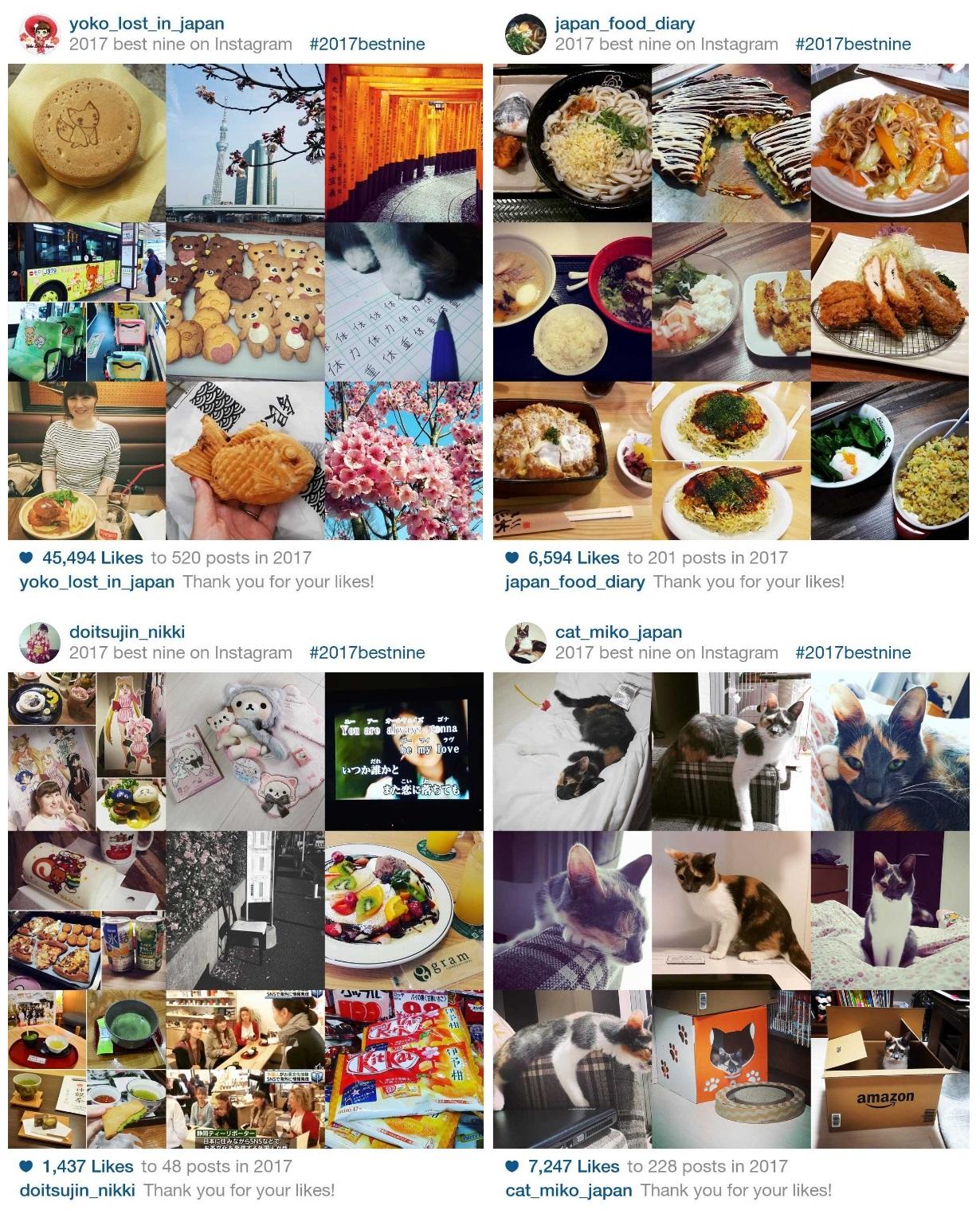 Instagram 2017bestnine