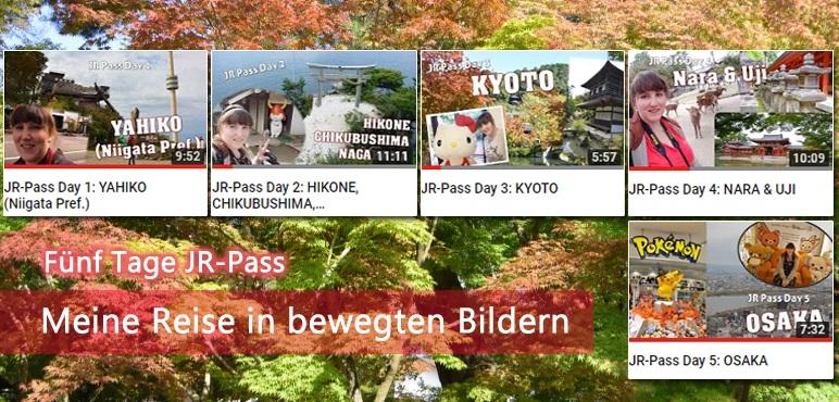 JR Pass Reise