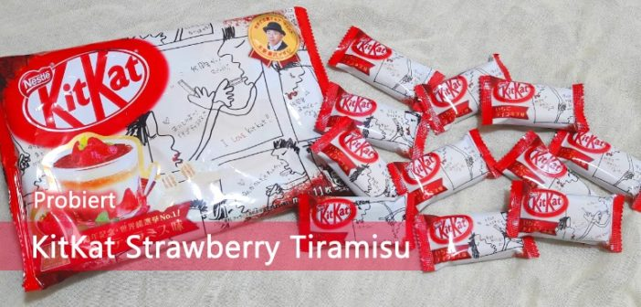 KitKat Strawberry Tiramisu
