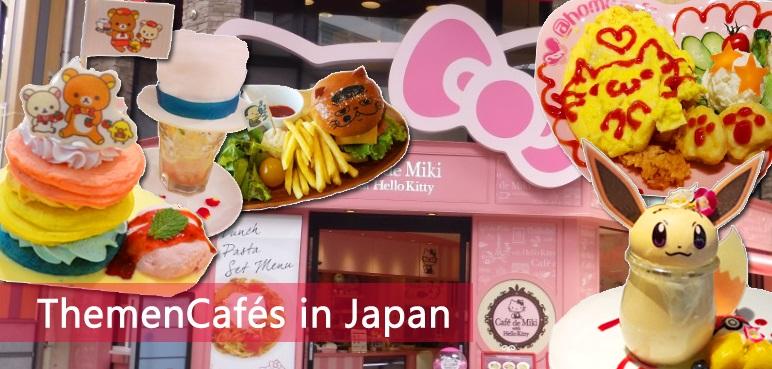 ThemenCafés in Japan