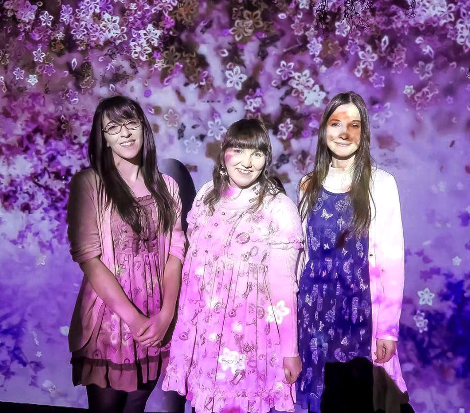 Meet the Blogger 2019 Zu dritt im Blütenregen