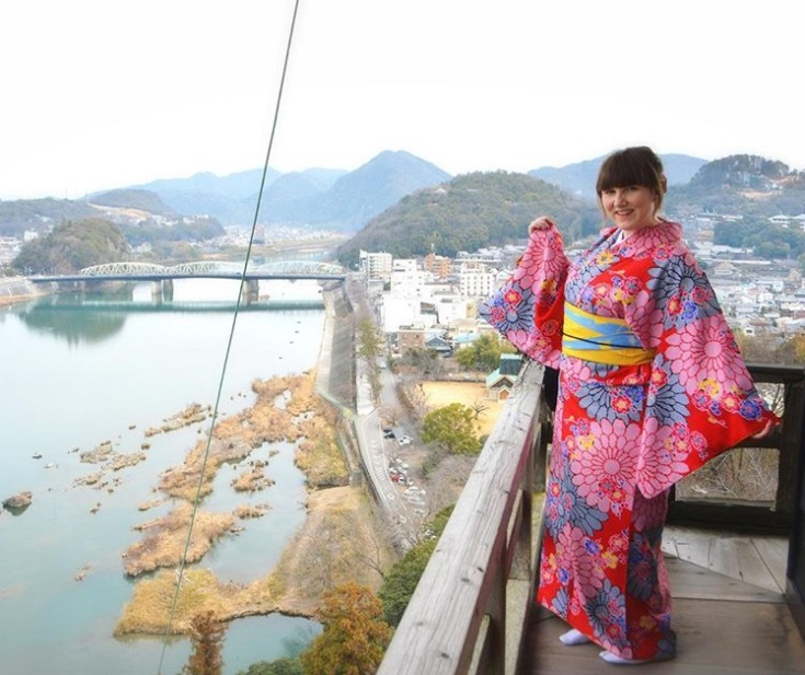 Meet the Blogger 2019 Im Kimono auf der Burg Inuyama