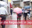 Regenzeit in Japan