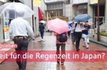 Regenzeit in Japan